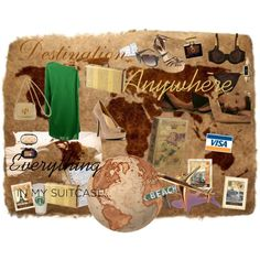 """""""Destination Anywhere"""" by michellesweet74 on Polyvore"""