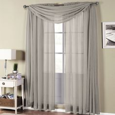 The Abri Rod Pocket crushed sheer curtain Panel simplify the casual and contemporary styling of Home Decor. The highlight of this panel is the crushed sheer fab