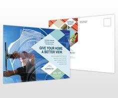postcard flyer template design inspiration