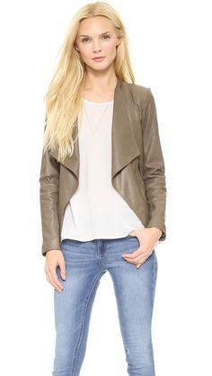 bb dakota leather jacket // $286