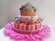 Torta infantil Princesas
