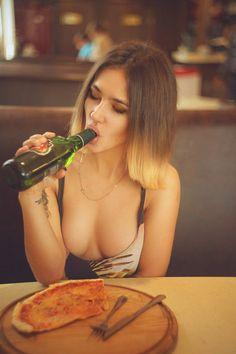 Drunk college girls fuck after beer pong