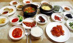 전주 한국식당 7000원정식