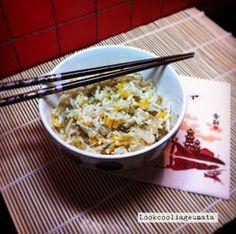 """Lookcool...λεια γεύματα! : """"Κινέζικο"""" λαχανόρυζο"""