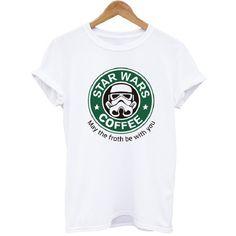 4ff9da1cc2d New Women Tshirt Star Wars T-shirt Fashion Print Cotton Casual Funny Shirt  For Lady White Top Tee Hipster