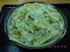 「くんじゃんそば」の野菜そば※かなりボリュームありますよぉ〜!!!