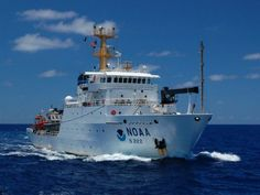 NOAA ATTEMPTS TO HIDE THE PAUSE IN GLOBAL WARMING: THE MOST DISGRACEFUL COVER-UP SINCE CLIMATEGATE. (Picture:NOAA ship Thomas Jefferson at sea.)