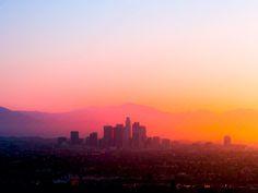 Gorgeous LA Sunrise Photo is Collage of 60 Images - My Modern Metropolis