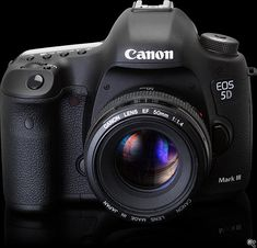 The new Canon 5D Mark-III. I want this.