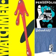 Five of the Most Challenged Graphic Novels  #bannedbooks #bannedbooksweek #freedomtoread