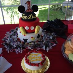 Mickey Mouse Themed Birthday