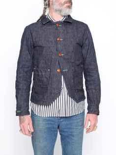 Mister Freedom Denim Loco Jacket - Indigo