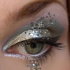snow princess eye makeup