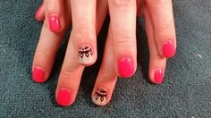 With Hand drawn nail art! ~Designs by Rachel Hollywood Hair, Cnd Shellac, Hair Designs, Hand Drawn, How To Draw Hands, Nail Art, Tattoos, Nails, Beauty