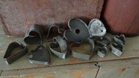 Tin Heart Cookie Cutter Collection