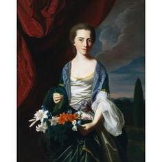 Sarah Sherburne Langdon, John Singleton Copley, 1767, Dallas Museum of Art
