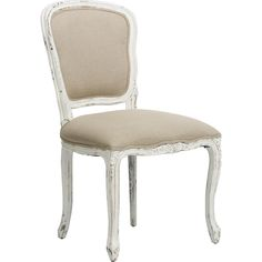 Orleans Dining Chair, French White $407.00 HFH