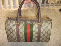 d9a5ee97ed0 Authentic Vintage Gucci Handbag Purse Speedy Bag sz by rysechkin