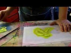 Monoprinting Tutorial 1 - Printmaking Arts - YouTube