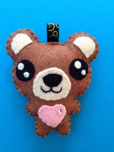 Items similar to Kawaii plush teddy bear keychain decoration ornament plush collectible miniature cute gift idea on Etsy Kawaii Plush, Cute Gifts, Decoration, Miniatures, Teddy Bear, Etsy, Charms, Animals, Couture