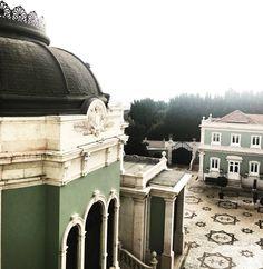 Um pouco desse hotel lindo, parece um palácio mesmo! Amei o Pestana Palace em Lisboa!
