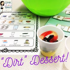 Step by step VISUAL recipes including all ingredients and cooking tools. Vocabulary cards, comprehension questions, IEP goals, and more!