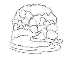 Virgin Forest Coloring Page : Coloring Sky Forest Coloring Pages, Coloring Pages For Kids, Online Coloring, More Pictures, Kids Rugs, Sky, Heaven, Coloring Pages For Boys, Coloring For Kids