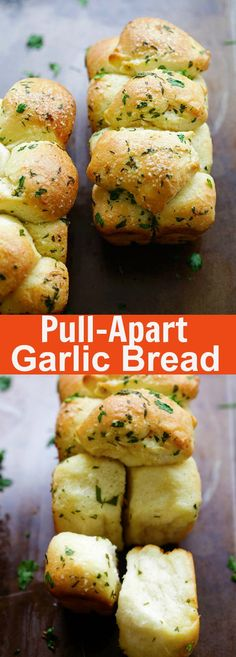 Pull Apart Garlic Bread – homemade pull apart garlic bread recipe that is easy, fool proof and yields the softest and best garlic bread ever   rasamalaysia.com
