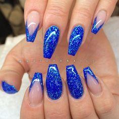 """Påfyll/förstärkning på naturliga naglar med Ocean från T&T Nail-Art/ www.nagelbutiken.se <span class=""""emoji emoji1f499""""></span><span class=""""emoji emoji2728""""></span>"""