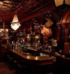 Victorian Back Bar Irish Pub Design