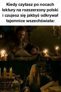 Meme Generation, Polish Memes, Dark Sense Of Humor, Funny Mems, History Memes, School Memes, The Hobbit, Funny Images, Sentences