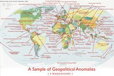 Map of geopolitical anomalies