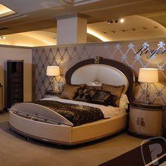 Camera da letto_ Con letto rotondo | Style | Pinterest | Bed design ...