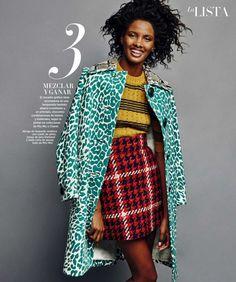 """""""The List"""" Thaina Oliveira Da Silva for Harper's Bazaar Spain September 2015"""