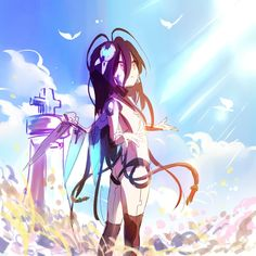 Loli Kawaii, Kawaii Anime, Anime Toon, Manga Anime, Shiro, Game No Life, Anime Rules, Harry Potter Anime, Anime Art Girl