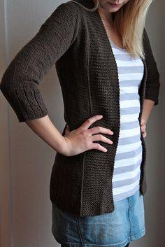 cardigan by Jenn Pellerin (free pattern)