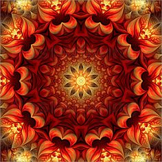 M.. Tenbergen - Mandala Glücksgefühl