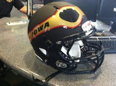 Check out the decals for the Iowa Barnstormers arena football team.