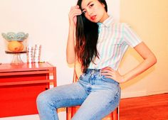 Denim Rules: What Your Jeans Says About You ~ Designer Clothes All About Fashion, Love Fashion, Philippine Fashion, Mom Jeans, Latest Trends, Denim, Sayings, Pants, Clothes