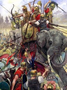 BATTLE OF BENEVENTUM 275 BC