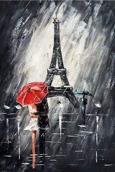 Handmade Wall Art Decor Oil painting Paris Romance Couple Picture Hand Painted Modern Abstract Oil Painting on Canvas for Home Paris Painting, Oil Painting Abstract, Hand Painting Art, Modern Oil Painting, Painting Classes, Modern Art Paintings, Abstract Portrait, Painting Videos, Painting Frames