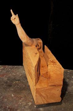 Dan Webb, un genio tallando madera