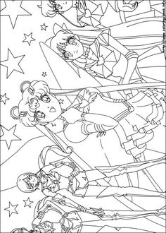 Sailor Moon coloring picture Sailor Moon Sailor Stars, Sailor Moon Manga, Sailor Moon Fan Art, Sailor Saturn, House Colouring Pages, Cute Coloring Pages, Coloring Sheets, Coloring Pages For Kids, Coloring Books