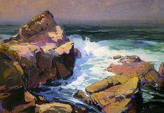 Monterey-Coast by Franz Bischoff