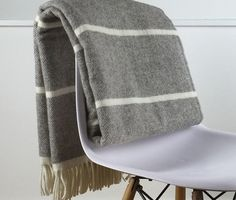 Pure New Wool Soft, Warm & Fluffy Blanket - Light & Glory Wimbledon Blanket #londonblankets #lightandglory #purewool #loveoursheep
