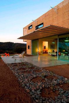 Container Home - House - Wood - Green style - Cubical - Light - Modern - Pallets - Recycled - Design - Architecture Shipping Container Buildings, Shipping Container Design, Cargo Container Homes, Storage Container Homes, Container House Design, Shipping Containers, Container Cabin, Container Store, Houses Architecture