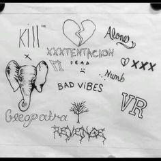 Set Tattoo XXXTENTACION!