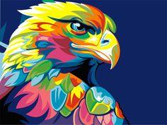 """""""Rainbow Eagle"""" Vayu Romdoni -"""