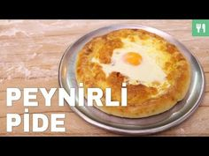 Peynirli Karadeniz Pidesi - YouTube Turkish Recipes, Pancakes, Pizza, Pudding, Cookies, Breakfast, Youtube, Desserts, Food
