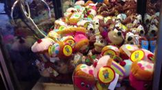 Claw Machines at Hershey Park